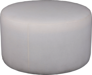 Round Ottoman Hardesty Dwyer Co